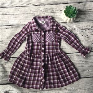 Pippa & Julie plaid checked dress - 4 / 4T